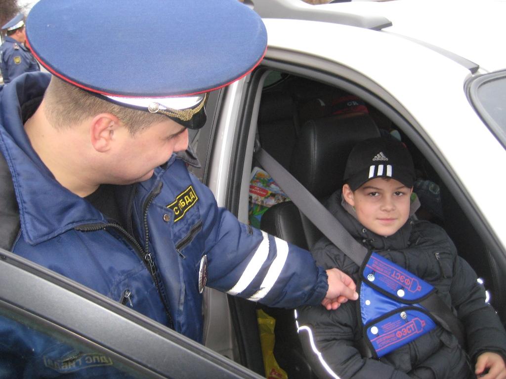 ВПриангарье Госавтоинспекция проведет рейды повыявлению водителей, нарушающих правила транспортировки детей