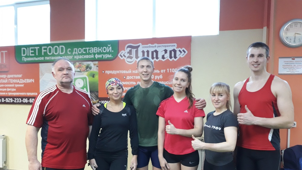 Видео о русском спортсмене