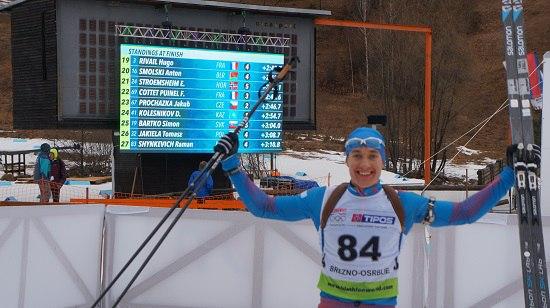 Удмуртский биатлонист Никита Лобастов завоевал «золото» главенства мира всоставе сборной Российской Федерации