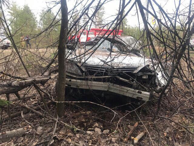 Чайковский: шофёр иномарки умер вДТП на30-ом километре дороги Воткинск