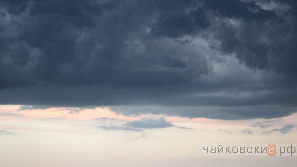 Вконце недели пермяков ожидают дожди игрозы спорывами ветра