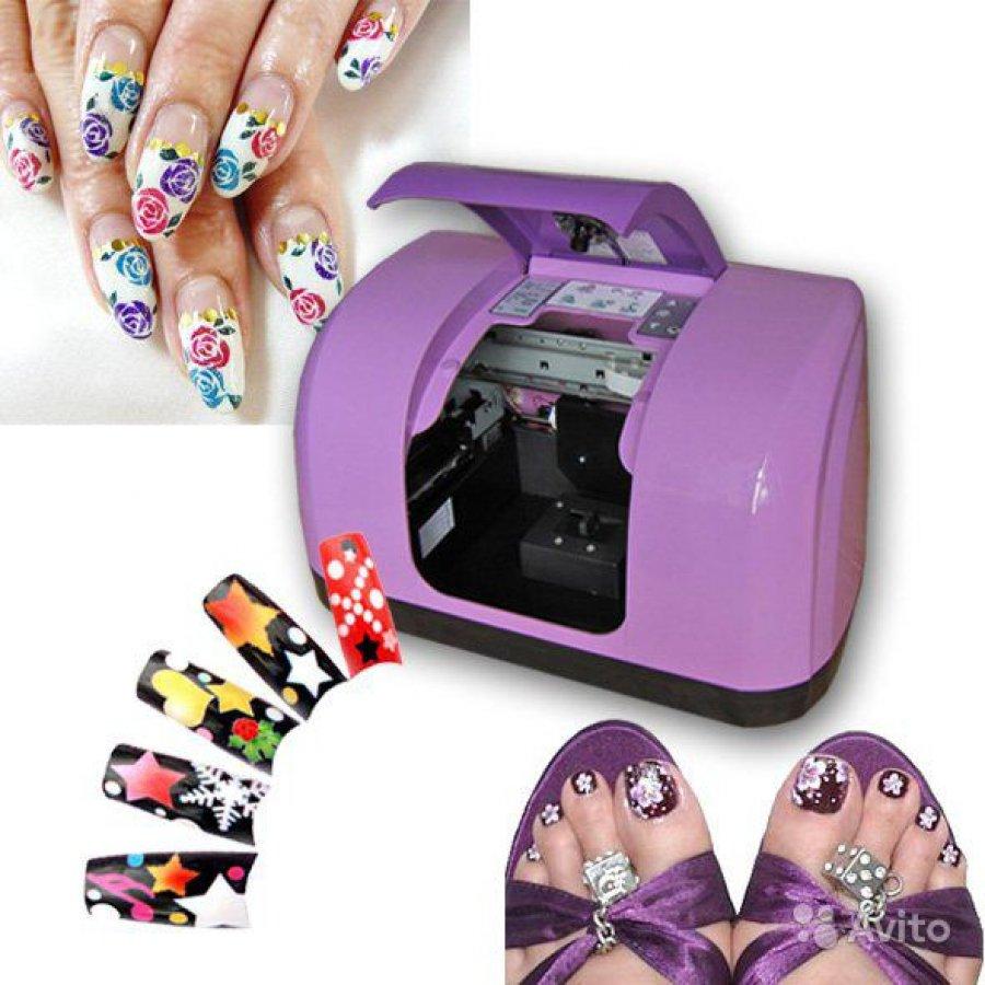 Фото принтер дизайн ногтей