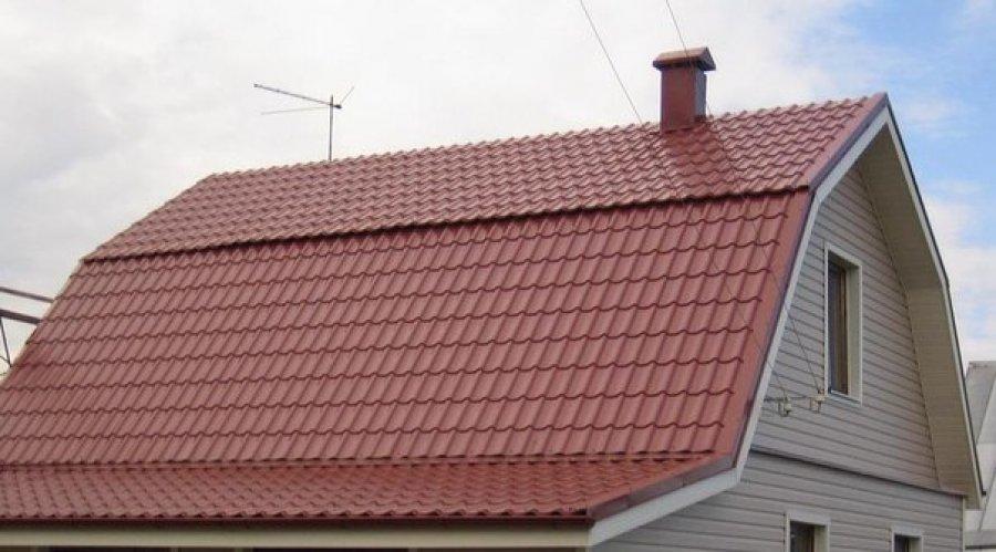 Как правильно покрыть ломаную крышу профнастилом своими руками